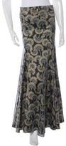 Just Cavalli Metallic Maxi Skirt