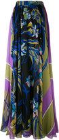 Emilio Pucci floral print pleated skirt - women - Silk - 46