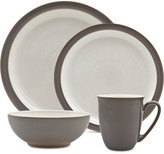 Denby 4-Pc. Truffle/Canvas Blend Dinnerware Set