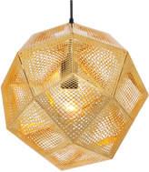 Tom Dixon Etch Shade Brass Pendant Light