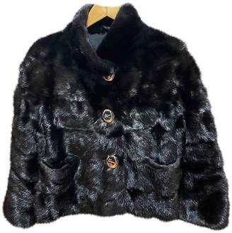 Simonetta Ravizza Black Mink Coats
