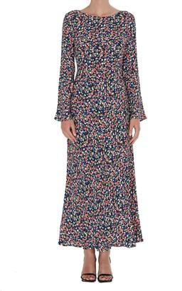 Rixo Mimi Front Slit Dress