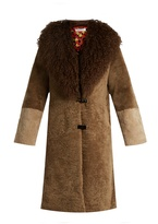 SAKS POTTS Febbe Berthe shearling coat