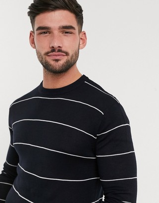 French Connection stripe knit sweater