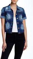 Fire Short Sleeve Decon Denim Jacket