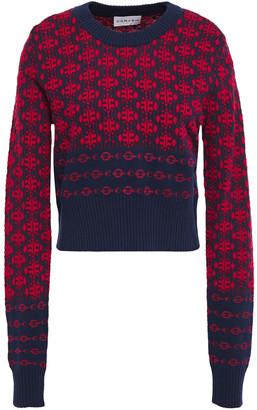 Carven Jacquard-knit Sweater