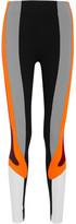 NO KA 'OI No Ka'Oi - Kihi Color-block Stretch Leggings - Black