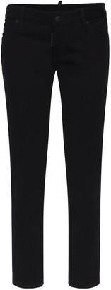 DSQUARED2 Jennifer Cotton Denim Skinny Jeans
