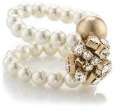 Pearl & Bauble Double Bracelet