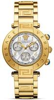 Versace Reve Chronograph Stainless Steel and Gold PVD Watch, 40mm