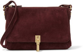 Elizabeth and James Cynnie Suede Shoulder Bag - Burgundy