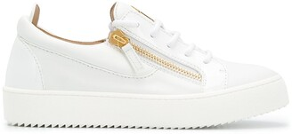 Giuseppe Zanotti Zip Detail Low-Top Sneakers