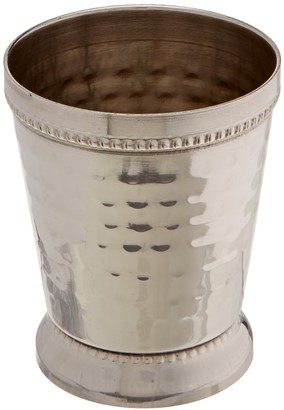 Elégance 4 oz Hammered Mint Julep Cup Small