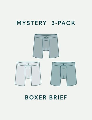 Tommy John Men's Boxer Brief Mystery 3 Pack