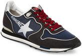Golden Goose Deluxe Brand Navy & Asphalt Running Jogger Sneakers