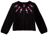 Tea Collection Embroidered Baby Cardigan (Baby Girls)