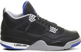 Nike Jordan 4 Retro leather trainers