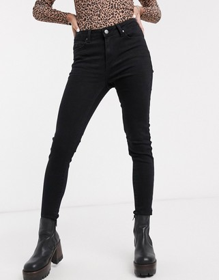 Object skinny jeans in black