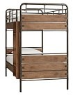 Pottery Barn Kids Twin-over-Twin Bunk Bed, Luxury Firm Mattress & Bunk Mattress Set
