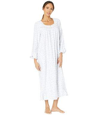 Eileen West Cotton Rayon Flannel Woven Ballet Nightgown