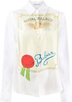 Lanvin Babar printed shirt