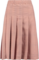 Tory Burch Pleated shell skirt