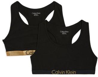 Calvin Klein Kids Set Of 2 Bralettes (8-16 Years)