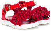 Roberto Cavalli open-toe buckle sandals