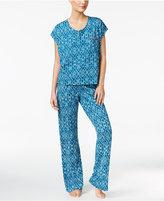 Lucky Brand Printed Knit Pajama Set