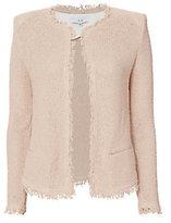 IRO Azure Collarless Knit Jacket