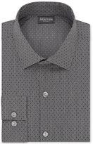 Kenneth Cole Reaction Men's Slim-Fit Techni-Cole Stretch Performance Cement Dot Dress Shirt