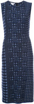 Oscar de la Renta embroidered dress - women - Wool - XS