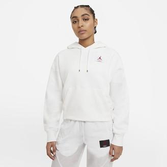 Nike Women's Fleece Pullover Hoodie (Plus Size) Jordan Flight