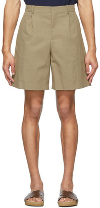 A.P.C. Beige Terry Shorts