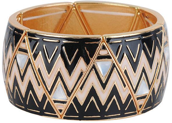 Forever 21 Zigzag Stretchy Bracelet