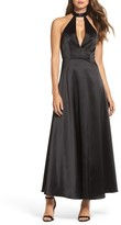 Jill Stuart Women's Satin Back Crepe Gown