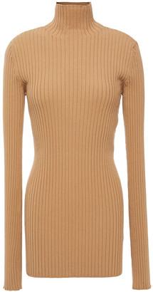 MM6 MAISON MARGIELA Ribbed-knit Top