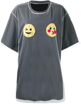 Viktor & Rolf Wink 'N' Kiss tulle layered T-shirt