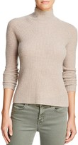 360 Sweater Ribbed Mock Cashmere Sweater