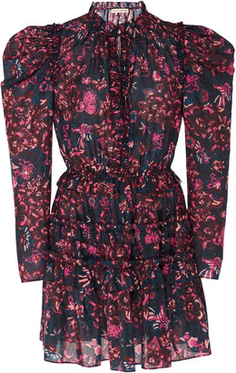 Ulla Johnson Prissa Floral-Print Cotton-Blend Mini Dress