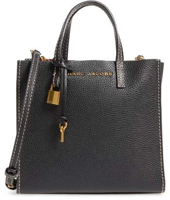 Marc Jacobs The Grind Mini Colorblock Leather Tote
