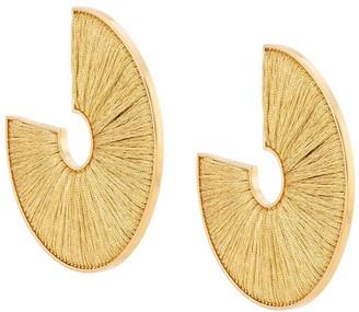 Mignonne Gavigan Mega Fiona hoop earrings