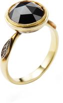 Ila Women's Syma 14K Yellow Gold & 2.49 Total Ct. Black & White Diamond Ring
