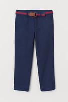 H&M Pants with Belt