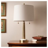 Threshold Franklin Table Lamp - Brass
