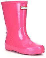 Hunter First Gloss Kids' Waterproof Rain Boots