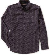 Ben Sherman Long-Sleeve Floral Print Shirt