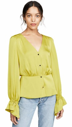 Ramy Brook Women's Karen Button Front Blouse