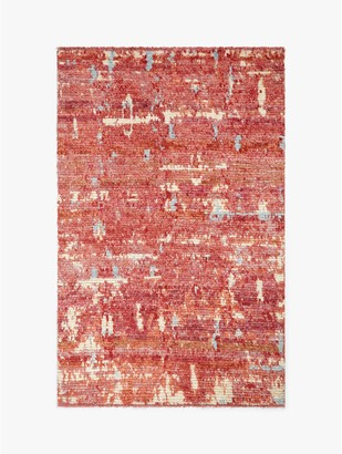 Gooch Luxury Hand Knotted Abstract Berber Style Rug, L240 x W170 cm