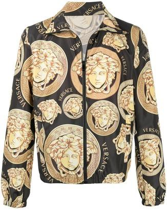 Versace Medusa Amplified-print lightweight jacket